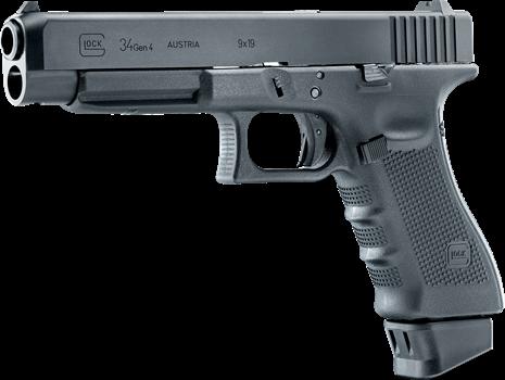 Airsoft Pistol Glock 34 GEN4 - Gevärsspecialisten