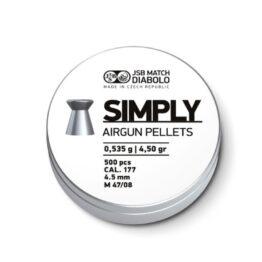 JSB Simply 4,5mm ,0520 g